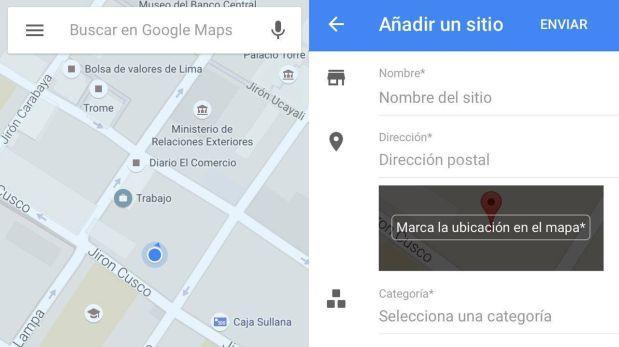 Ahora podrás editar y añadir lugares con Google Maps