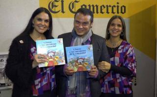 Los hermanos Paz presentan nuevo libro infantil