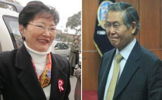 Higuchi está a favor de que Fujimori cumpla pena en su casa