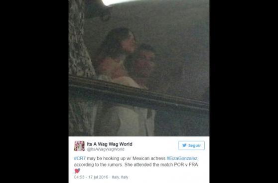 Cristiano Ronaldo: ¿Actriz Eiza González es su nueva novia?