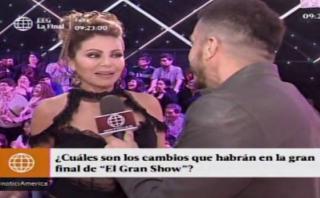 """""""El gran show"""": Gisela Valcárcel fichó a conocida periodista"""