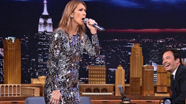Celine Dion imita a Rihanna hasta en su famoso twerk