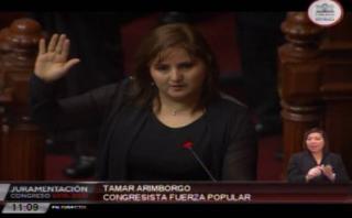 Congresista juró por el indulto a Alberto Fujimori [VIDEO]
