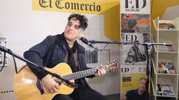Pelo Madueño nos responde 5 preguntas sobre música [VIDEO]