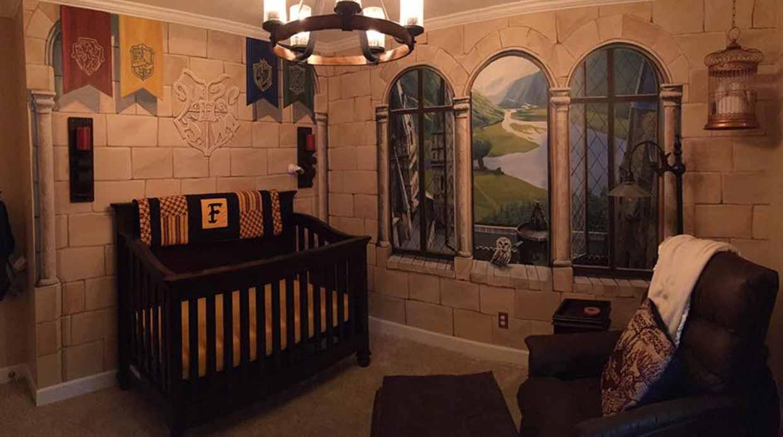 Harry Potter Inspira Esta M Gica Habitaci N De Bebe Foto