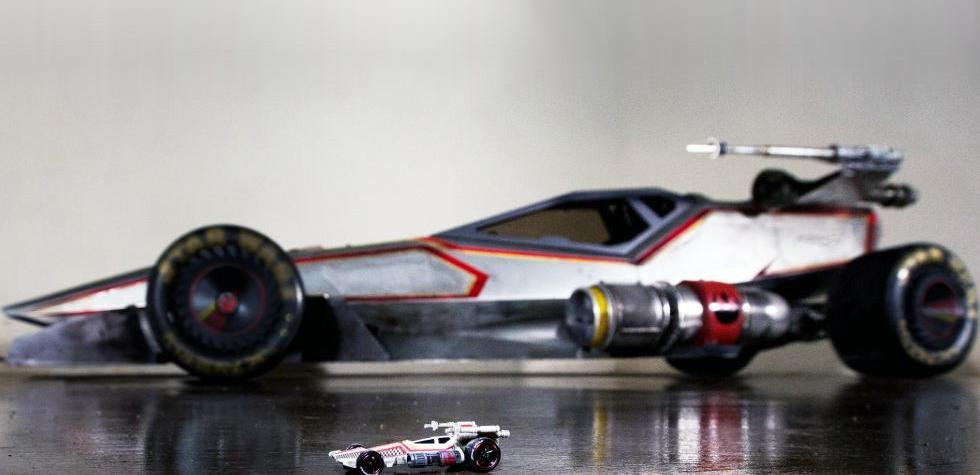 Hot Wheels convierte un X-Wing en un auto a escala real [VIDEO]