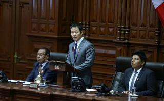 Kenji Fujimori evocó a Keiko en discurso en el Congreso [VIDEO]