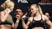 UFC: Valentina Shevchenko vs. Holly Holm se miden en Chicago