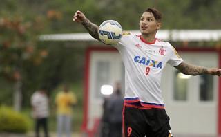 Paolo Guerrero y su faceta desconocida en prácticas de Flamengo