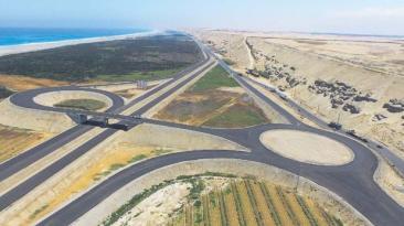 Autopista Chincha-Pisco está al 74% pero falta sanear terrenos