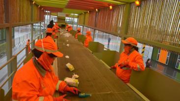 La planta de reciclaje más grande del país abrió sus puertas