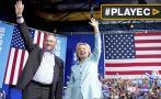 Hillary Clinton presenta a Tim Kaine, su compañero de fórmula