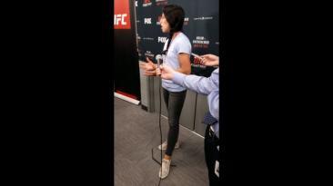 """Joanna a El Comercio: """"UFC necesita más categorías para chicas"""""""