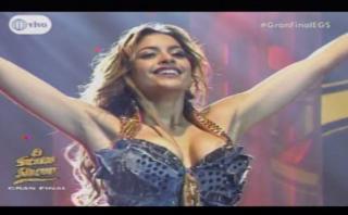El gran show: Milett se convirtió en JLo para la gran final
