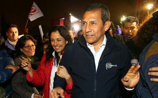 """Humala: """"Con Nadine, vamos a ampliar las bases nacionalistas"""""""