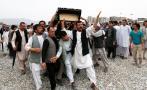 Afganistán despide con dolor a víctimas de la masacre en Kabul
