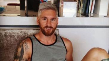 Lionel Messi y otros jugadores que se tiñeron de rubio [FOTOS]
