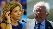 Renuncia líder demócrata tras revelarse complot contra Sanders
