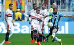 Con Christian Cueva: Sao Paulo perdió 1-0 ante Gremio