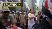 La antorcha olímpica llega a Sao Paulo a 12 días de Río 2016