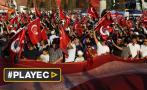 Turquía marcha contra golpe de Estado y autoritarismo