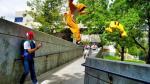 Pokémon Go luce más divertido si se mezcla con el parkour - Noticias de devin graham
