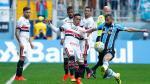 Con Christian Cueva: Sao Paulo perdió 1-0 ante Gremio - Noticias de la arena
