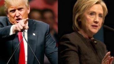 """Trump: """"Hillary Clinton debería dejar la campaña"""""""