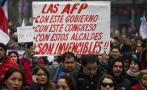 """Chilenos dicen """"No"""" a las AFP por bajas jubilaciones [FOTOS]"""