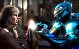 Injustice 2: Wonder Woman y Blue Beetle pelean en nuevo tráiler