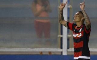 Con gol de Paolo Guerrero: Flamengo venció 2-1 a América-MG