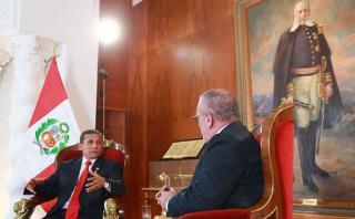 """Humala: """"Nadine es la creadora de muchos programas sociales"""""""