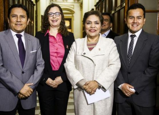 Fujimorista Luz Salgado fue electa como presidenta del Congreso
