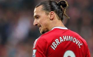 Zlatan Ibrahimovic y el primer problema que generó en el United