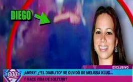 Diego Chávarri deja atrás a Melissa Klug y ya sale con otra