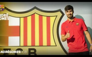 """André Gomes llega al Barcelona para """"aprender, jugar y ayudar"""""""