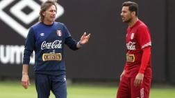 Ricardo Gareca explicó por qué no visitó a Pizarro ni Zambrano