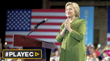Clinton hace historia y se convierte en candidata presidencial