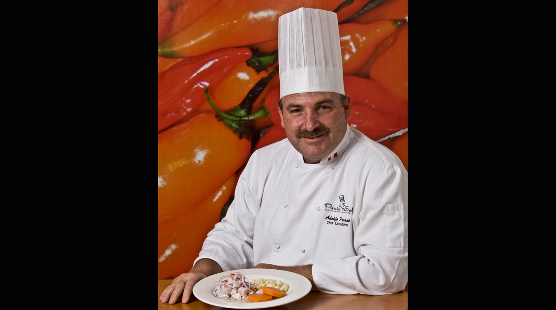 «Evitemos 'tropicalizar' o alterar nuestras recetas; mantengamos la identidad del sabor de la comida peruana», plantea el chef Adolfo Perret. (FOTO: EL Comercio)