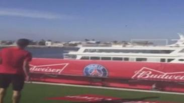 Ángel di María marcó un golazo de barco a barco [VIDEO]