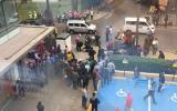 San Isidro: balearon a mujer cambista en centro financiero