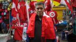 Fiestas Patrias: la industria de banderas y escarapelas [FOTOS] - Noticias de estacion gamarra