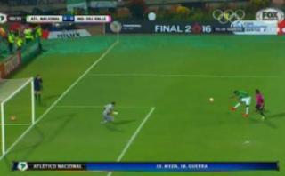 Libertadores: a los 18 segundos, Borja erró gran ocasión de gol