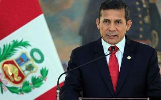Humala dio último mensaje a la nación antes de cambio de mando