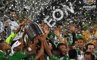 ¡Atlético Nacional campeón de la Copa Libertadores de América!