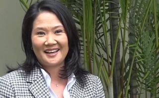 """Keiko: """"Convertiremos propuestas del plan de gobierno en leyes"""""""