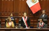 Luz Salgado usó banda presidencial por breves momentos [VIDEO]