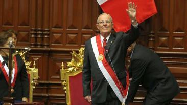 Así fue la asunción de mando de PPK en el Parlamento [FOTOS]