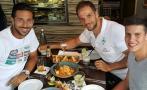 Claudio Pizarro celebra 28 de julio en Alemania con un ceviche