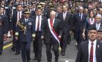 PPK y su peculiar baile cuando caminaba hacia Palacio [VIDEO]